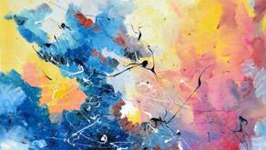 Synesthésie : elle peint ce qu'elle entend, et c'est magnifique !