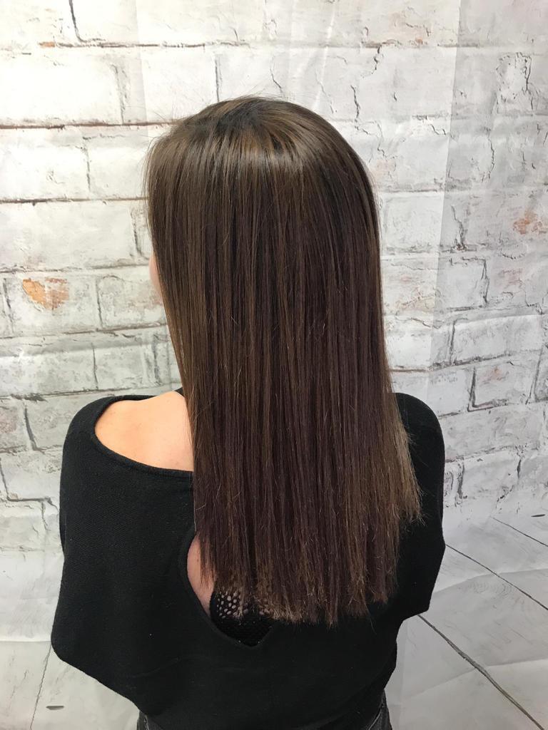 Lissage permanent cheveux longs