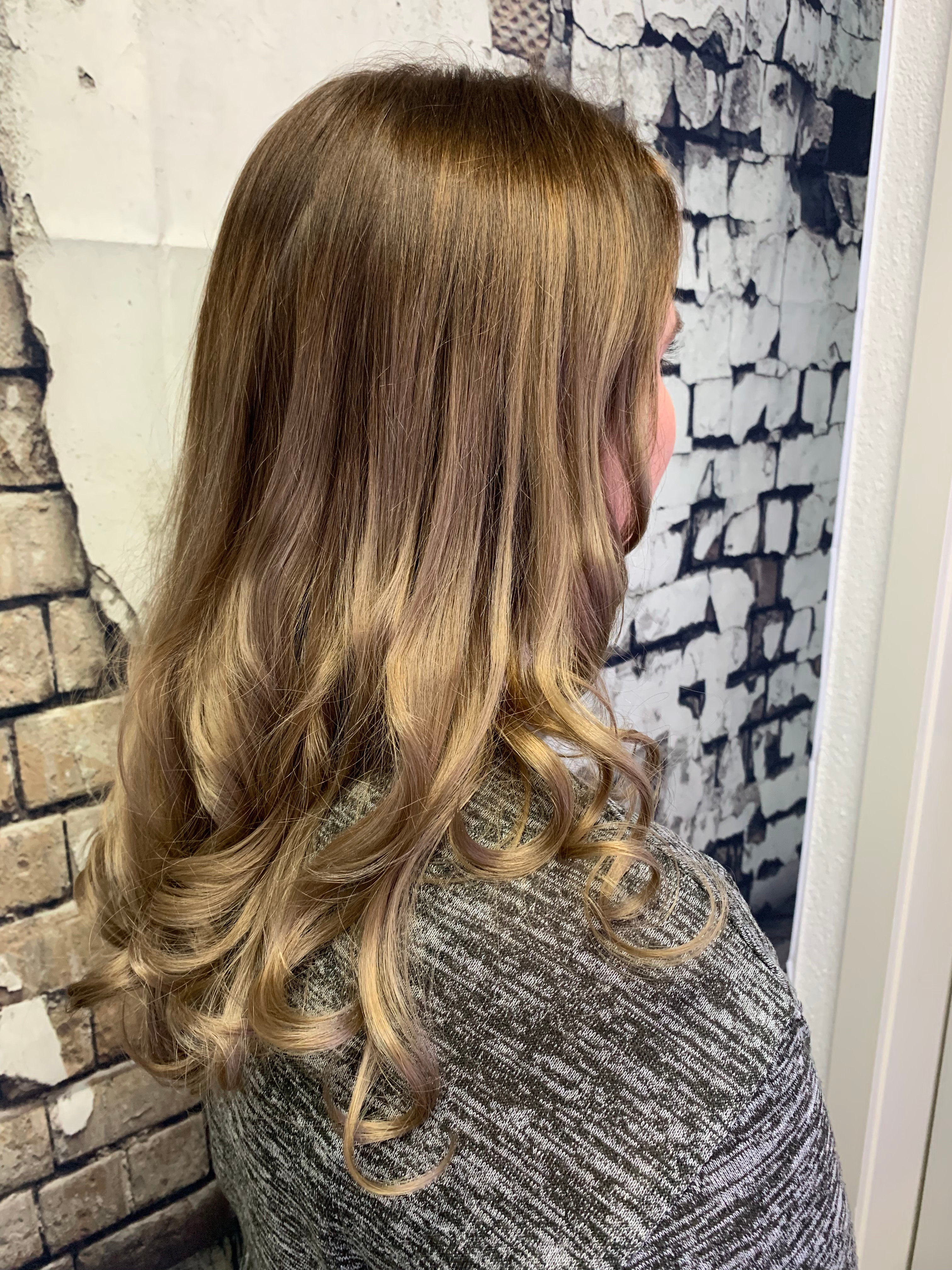 Coupe cheveux long + brushing