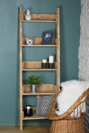 "The ""Georgette"" decorative ladder shelf"