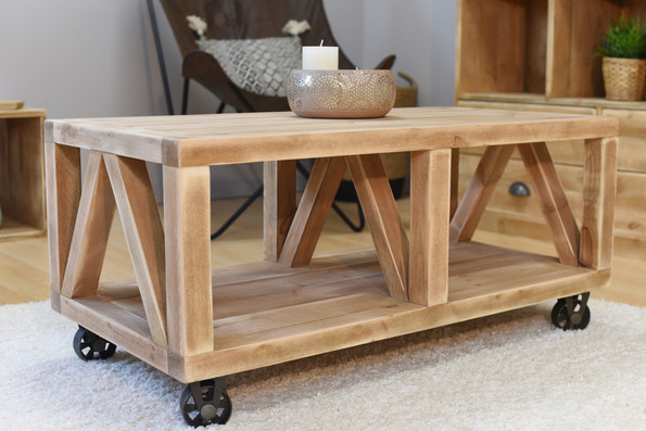 """The """"Rose"""" coffee table"""