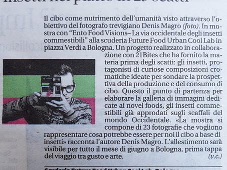 "La Tribuna : ""Entofoodvisions"" di Denis Magro"