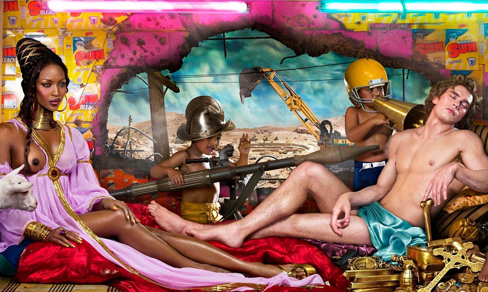 Naomi Campbell by David LaChapelle