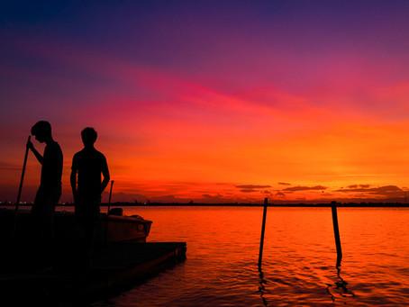 L'arte del tramonto