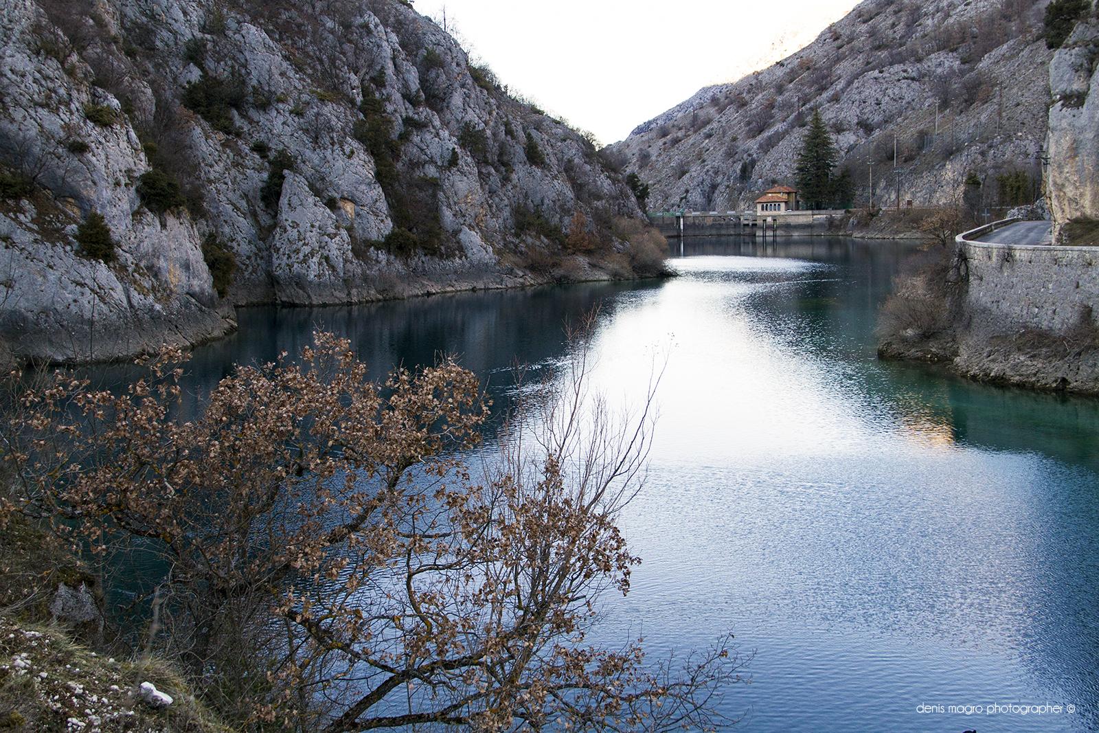 Lago di San Domenico / Gole del Sagittario / Abruzzo / Denis Magro photographer
