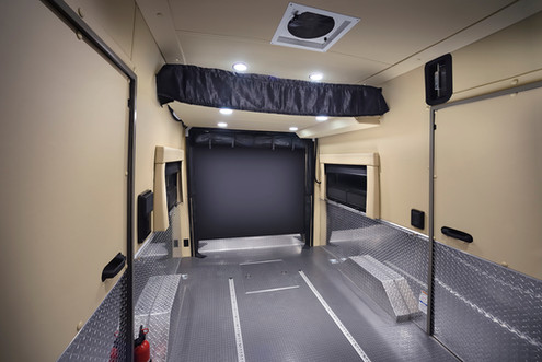 Trail Wagon - Rear Interior