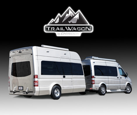 Trail Wagon with Chinook Countryside