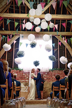 Celebrant led Barn Wedding Ceremony