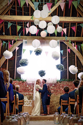 Celebrant led Barn Wedding Ceremony