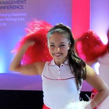 Vision Dance Co's Cheerleader