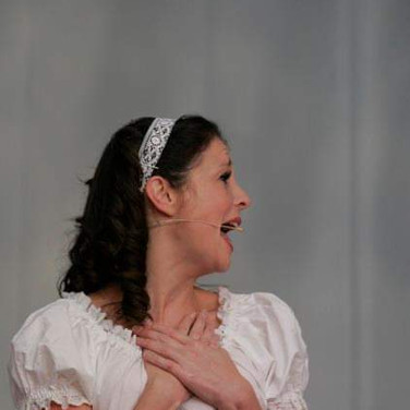 Vision Dance Co's dancer playing Cinderella in a corporate entertainment performance