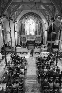 Celebrant Karlina conducting a wedding ceremony