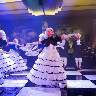 Vision Dance Co's Masquerade Ball for Corporate Entertainment