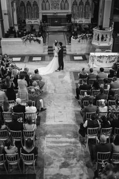 Celebrant Karlina leading a wedding ceremony