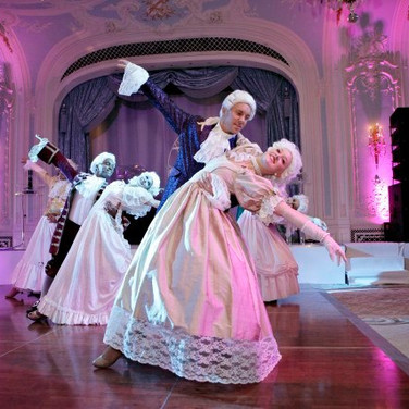 Vision Dance Co's Dancers performing Cinderella's Ball