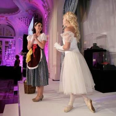 Vision Dance Co's dancers performing Cinderella
