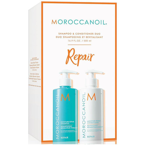 Set Șampon și Conditioner Moroccanoil reparator 2 x 500 ml
