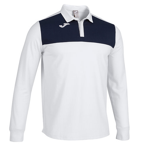 POLO WINNER II BLANCO-MARINO M/L