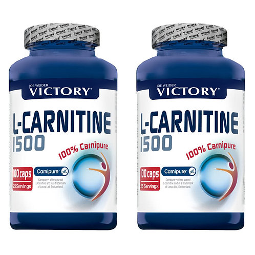 L-Carnitine Pack Duo 2×100 capsule PROMO