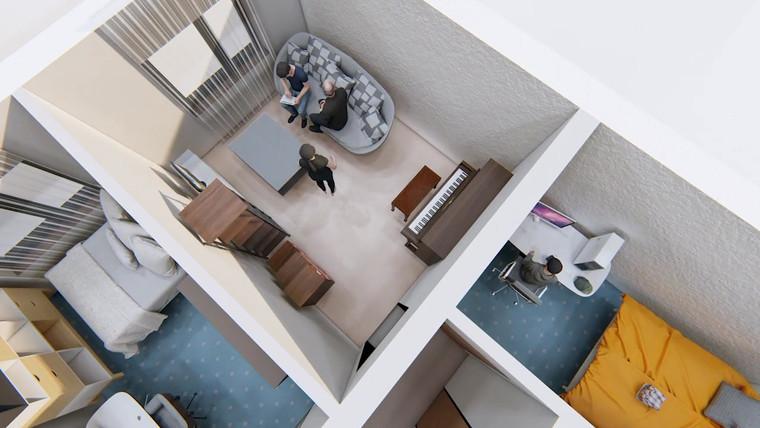 Schwanebecker Chaussee Berlin Komplexsanierung 3D Video