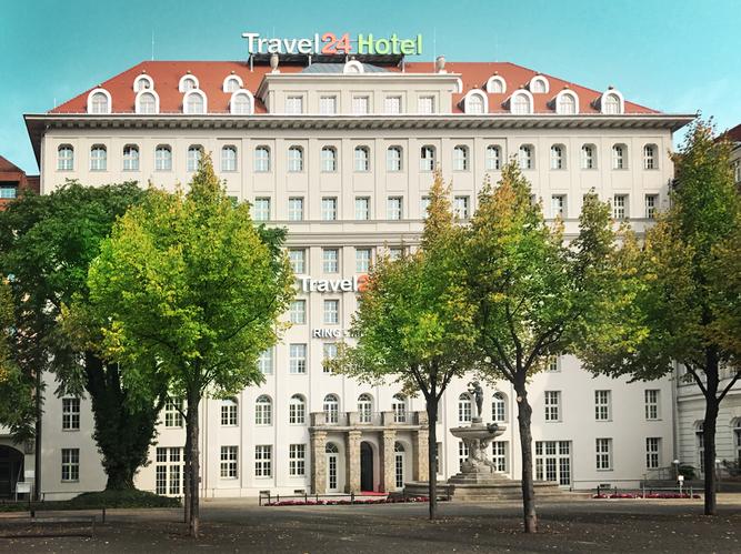 Ringmessehaus Leipzig Travel 24 Hotel fca Fassade