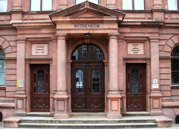 Reussisches Rutheneum Gera Sanierung Schulgebäude  fca