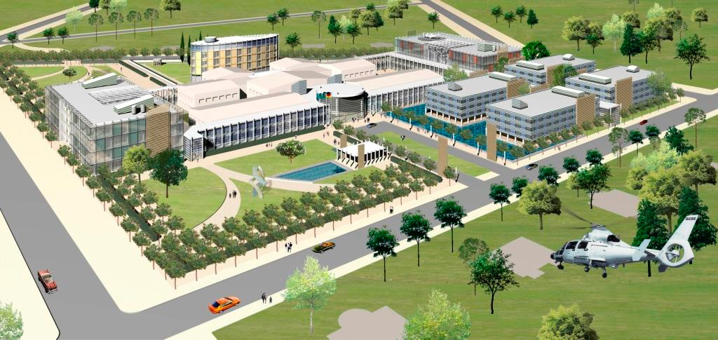 Präsidentenklinik Astana fca Architekten