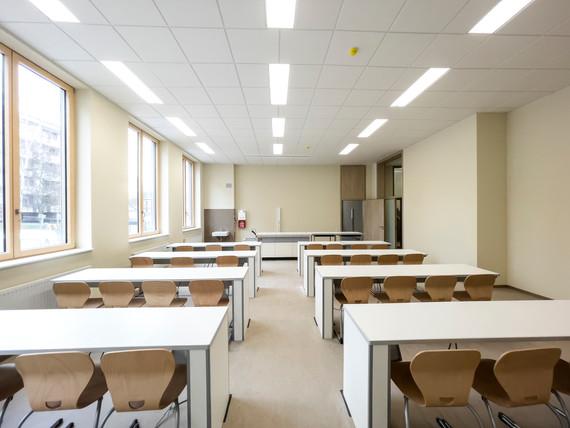 Campus Rutheneum Gera  Neubau Schulgebäude Klassenraum fca Architekten