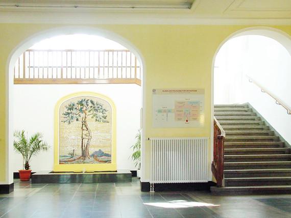 Universitätsklinikum Dresden Haus 29 Orthopädie fca Architekten Innenansicht