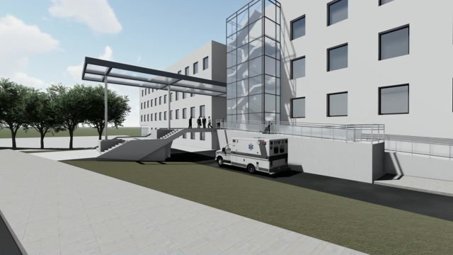 Diakonissenkrankenhaus Dresden fca 3D-Visualisierung