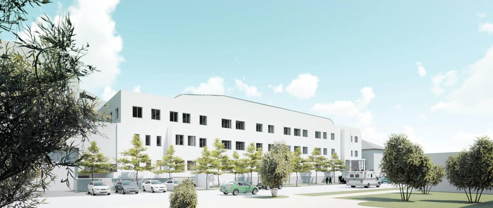 Haus 58 UKD OP-Zentrum fca GmbH Architekten