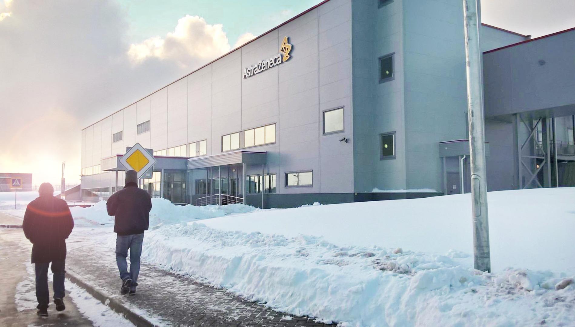 Astra Zeneca Pharma Produktion und Lager