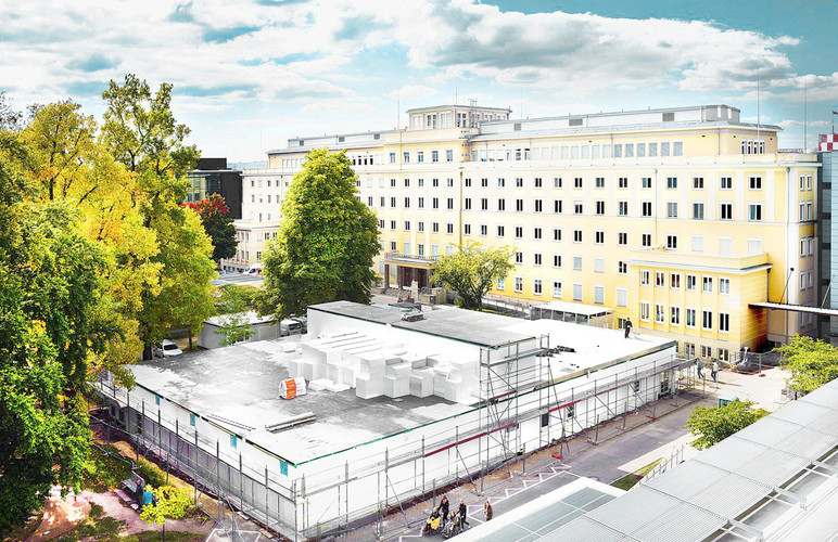 Interims-OP UK Dresden fca Architekten