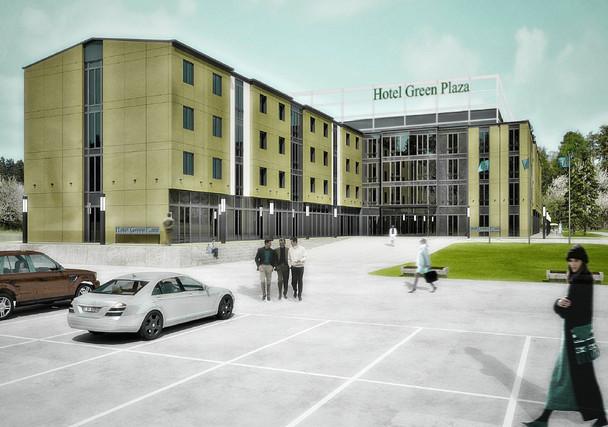 Hotel Green Plaza Minsk Visulisierung fca