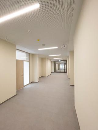Campus Rutheneum Gera Schulgebäude Ansicht Neubau fca Architekten