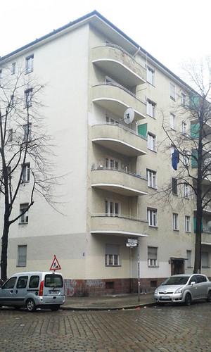 Bestand Fassade Wohngebäude Altenbraker Berlin
