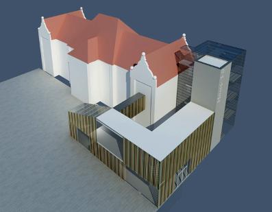 UKD Haus 15 Visualisierung fca