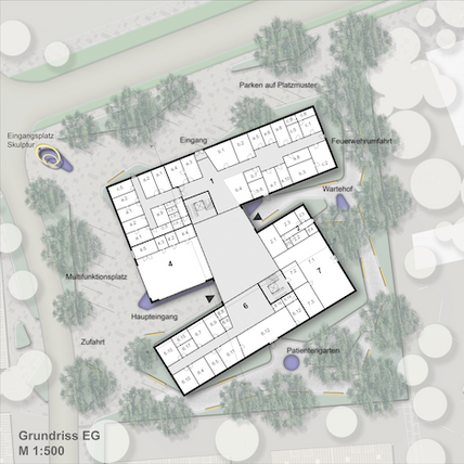 Neubau Gesundheitszentrum Erfde fca Architekten Grundriss