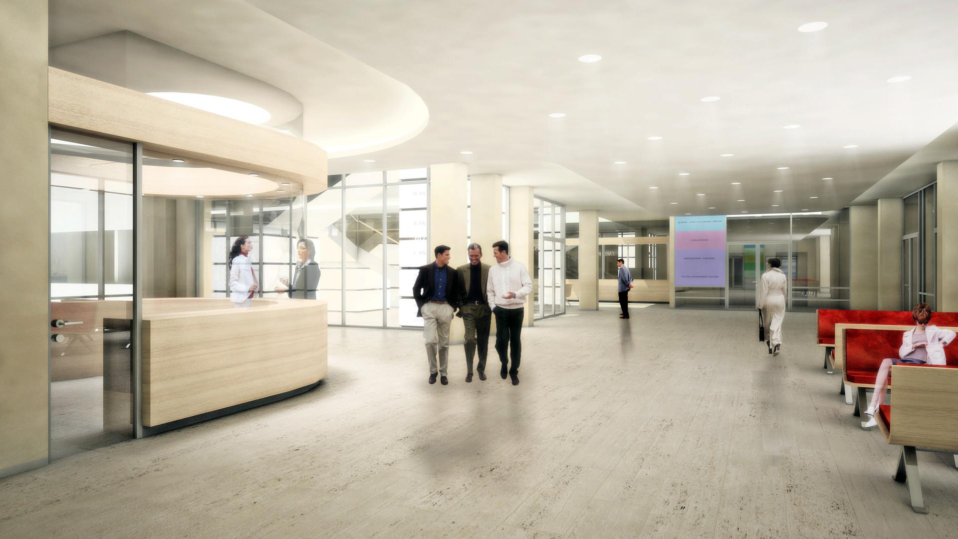Nishnij Tagil Medizinisches Zentrum Foyer