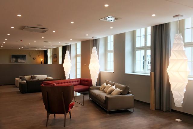 Ringmessehaus Leipzig Travel 24 Hotel Lobby fca