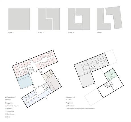 Gesundheitszentrum Erfde fca Architekten Grundriss
