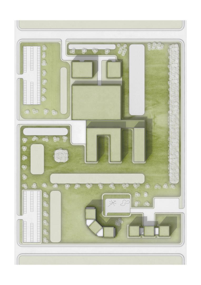 Nishnij Tagil Medizinisches Zentrum Lageplan