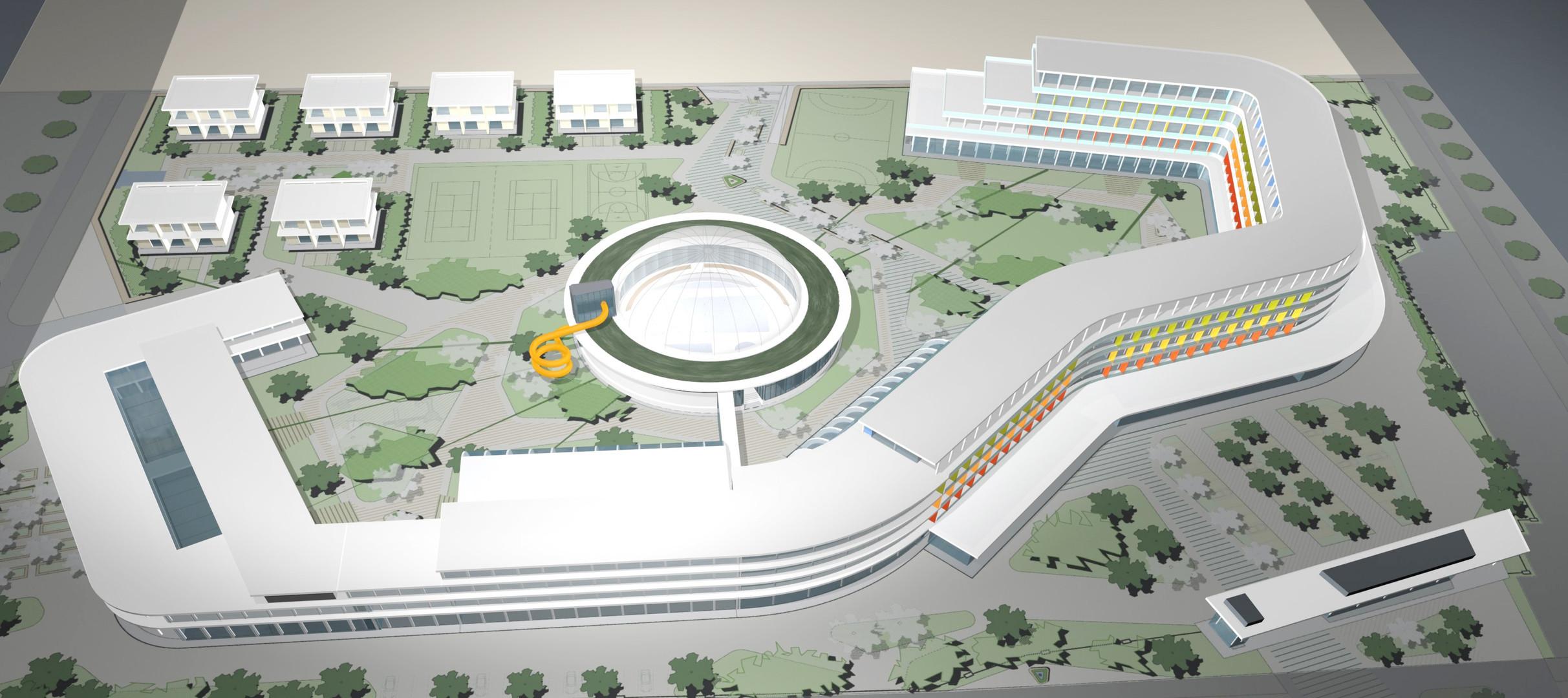 Anapa Neubau Sanatorium fca Architekten