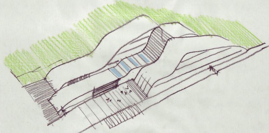 UKTUS Rehabilitationsklinik und Hotel fca Architekten Entwurf