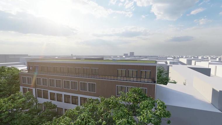fca Architekten 3D Visualisierung Studentenwohnheim Schlieperstraße Berlin