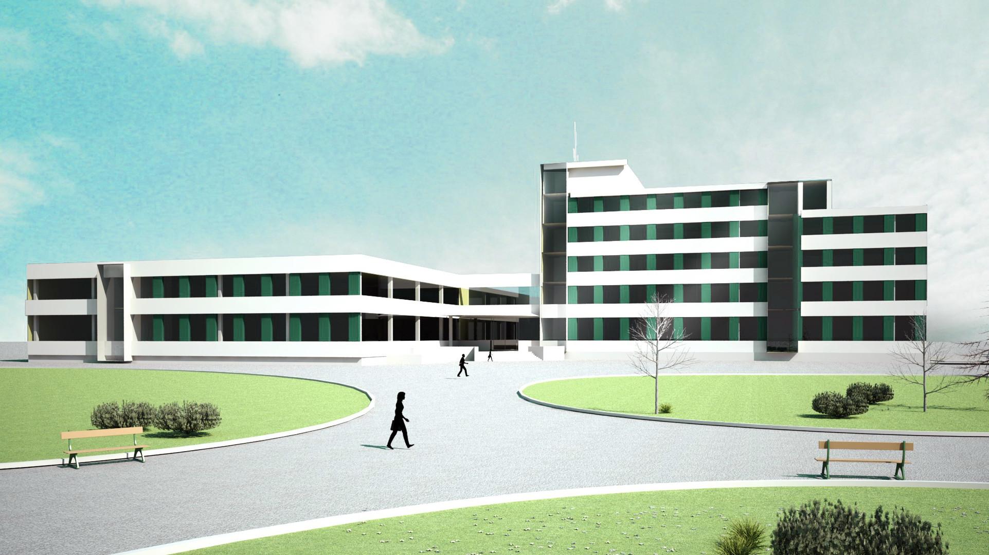 Nishnij Tagil Medizinisches Zentrum Außenansicht