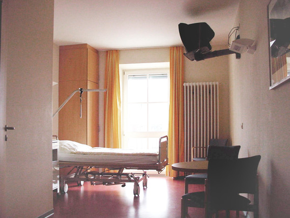 Universitätsklinikum Dresden Haus 29 Orthopädie fca Architekten Bettenzimmer