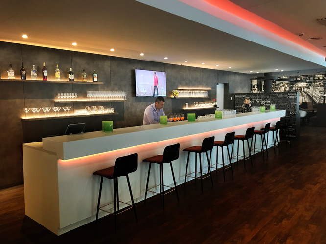Ringmessehaus Leipzig Bar Travel 24 Hotel fca