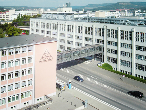 Fachhochschule Jena Luftbild