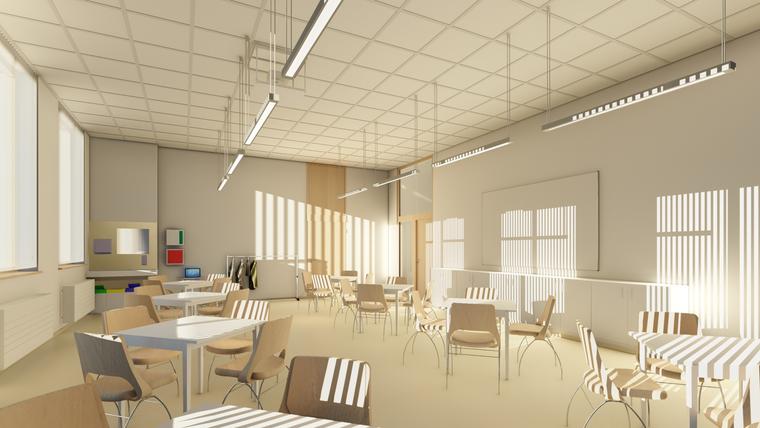 Campus Rutheneum Gera Klassenraum fca